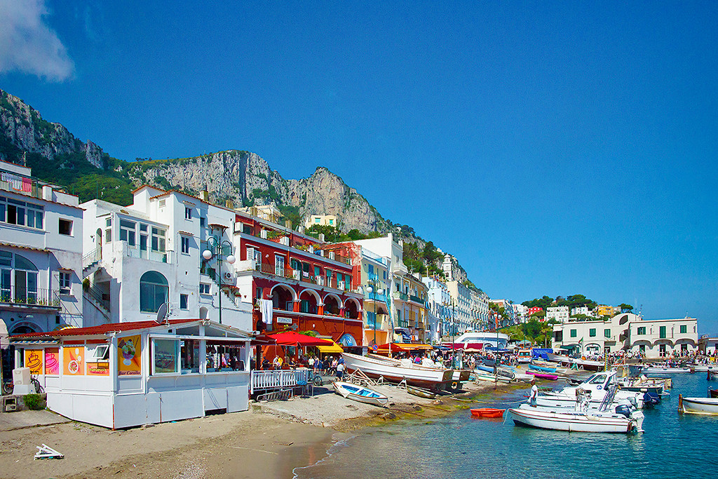 Early morning on Capri